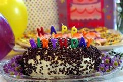 торжество дня рождения Стоковые Фотографии RF