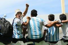 Торжество кубка мира Стоковое фото RF