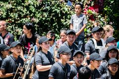 торжество 197 лет независимости от Гватемалы стоковое изображение rf