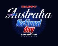 Торжество национального праздника Австралии бесплатная иллюстрация