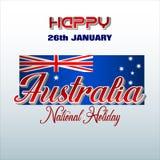 Торжество национального праздника в Австралии бесплатная иллюстрация