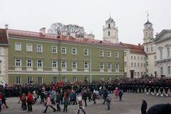 Торжество независимости Литвы Стоковое Фото