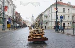 Торжество независимости Литвы, Стоковые Изображения