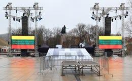 Торжество независимости Литвы, Стоковые Изображения RF