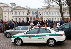 Торжество независимости Литвы Стоковые Изображения RF