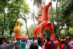 Торжество 1422 Нового Года Бангладеша Стоковое фото RF
