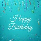 торжество дня рождения предпосылки счастливое Стоковая Фотография