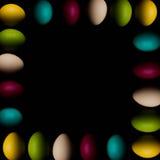 Торжество пасхальных яя, цвет, декоративный, дизайн, группа, праздник, объекты, красочные Стоковые Изображения