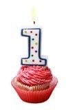 Торжество первого года то для дня рождения Стоковое Фото