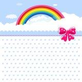 торжество поздравительой открытки ко дню рождения Стоковые Фотографии RF