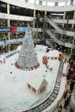 Торжество покупок рождества Стоковые Фото