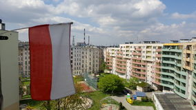 Торжество праздника 1-ое мая в Польше Стоковые Фото