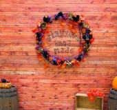 Торжество предпосылки хеллоуина в октябре Стоковые Фото