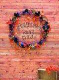 Торжество предпосылки хеллоуина в октябре Стоковая Фотография RF