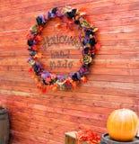 Торжество предпосылки хеллоуина в октябре Стоковое Изображение RF