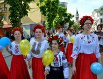 Торжество украинской вышивки Day_6 Стоковая Фотография RF