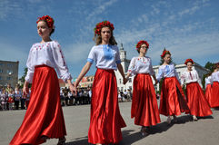 Торжество украинской вышивки Day_12 Стоковая Фотография RF