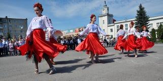 Торжество украинской вышивки Day_13 Стоковая Фотография