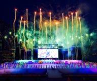 Торжество фейерверков Стоковая Фотография RF