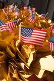 торжество четвертое -го июль играет главные роли тема нашивок Стоковые Фотографии RF