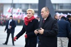 Торжество 100th годовщины возвращать независимость Польшей стоковая фотография rf