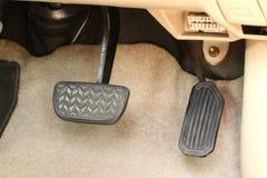 Тормозная педаль стоковое фото rf