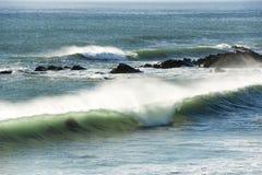 Тормозя волна Стоковое Изображение