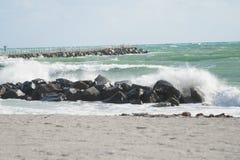 Тормозя волны Стоковая Фотография RF