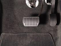Тормоз и педаль акселератора стоковые фото