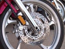 Тормоз колеса мотоцикла Стоковая Фотография RF