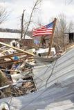 торнадо Индианы henryville отавы Стоковая Фотография