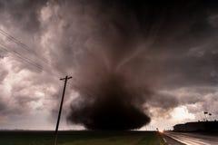 Торнадо к востоку от грандиозного острова, Небраски Стоковые Фотографии RF