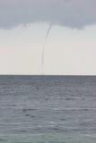 Торнадо над морем Стоковые Фотографии RF