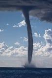 Торнадо над Средиземным морем Стоковое Изображение