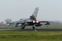 Торнадо GR RAF Panavia 4 принимая на флаг Frisian Стоковые Изображения RF