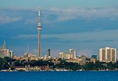 Торонто, городской пейзаж горизонта Онтарио Стоковые Фото