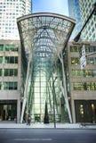 Торонто, Канада - 13-ое мая 2018: Место Brookfield в Торонто Место Brookfield офис и центр города торгового комплекса внутри стоковые изображения rf
