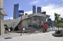 Торонто, 24-ое июня: Здание аквариума ` s Ripley от Торонто в провинции Канаде Онтарио Стоковая Фотография