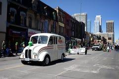 Парад дня St. Patrickâs Торонто однолетний Стоковое фото RF