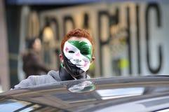 Ралли для того чтобы маркировать 2 лет сирийського витка в Торонто Стоковое Фото