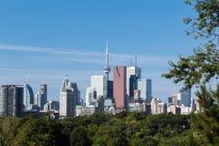Торонто от востока стоковое изображение rf