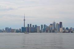 Торонто от острова Торонто Стоковая Фотография RF
