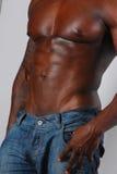 торс афроамериканца стоковая фотография rf
