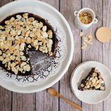 Торты арахиса шоколада Стоковое Изображение RF