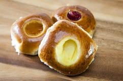 Торты, богатые печенья с вареньем Стоковое Изображение RF