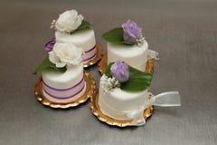 Торты венчания Стоковые Фотографии RF