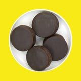 Торты закуски шоколада Стоковое фото RF