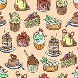 Торты и пирожные vector часть чизкейка для шоколадного торта с днем рождений и снеговика десерта испеченных партией от бесплатная иллюстрация
