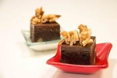 Торты пирожного шоколада мини Стоковые Фотографии RF