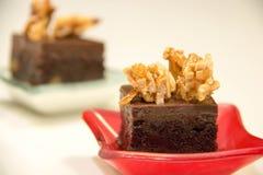 Торты пирожного шоколада мини Стоковые Изображения RF